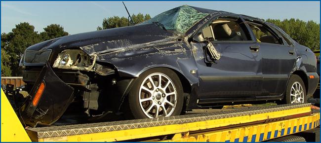 Schade auto verkopen & laten bezorgen